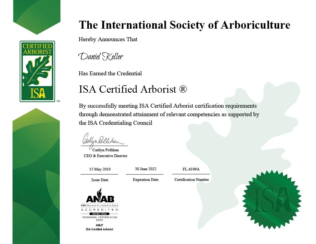 Orlando Certified Arborist Seminole County Tree Service